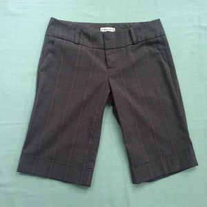 Forever Bermuda Shorts XS Brown Plaid Made in USA